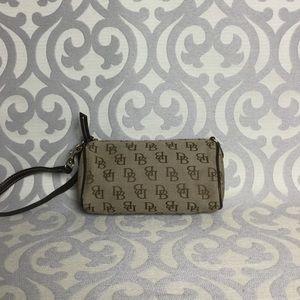 Dooney & Bourke Canvas Wristlet/ Mini Bag